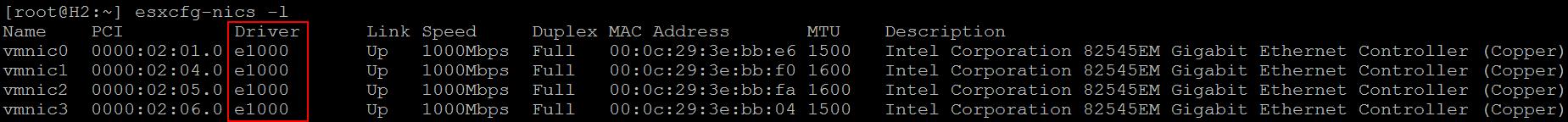 ESXi 6 0 Nested Lab–NIC not detected   vHomeLab